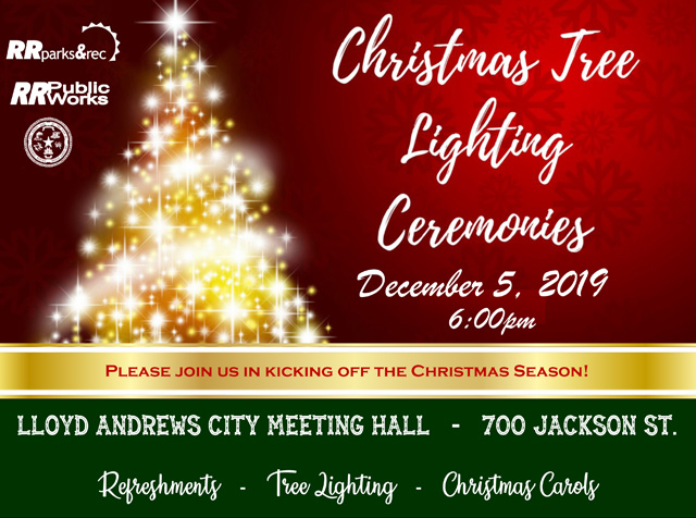 Christmas Tree Lighting - December 5th